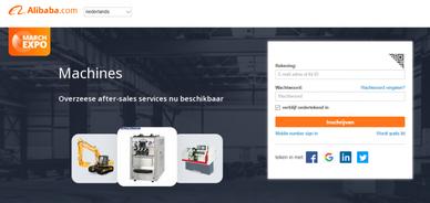Verkopen op Bol.com aanmelden Alibaba